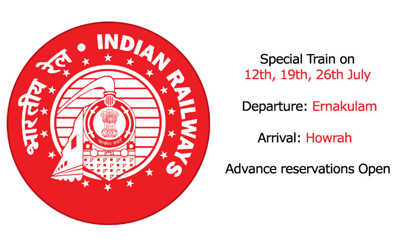 Superfast Suvidha special train from Ernakulam Jn. to Howrah