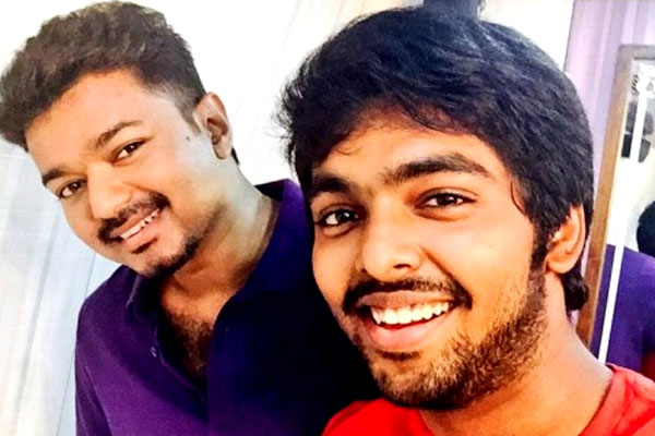 Music Director G V Prakash Kumar is Actor Vijay fan