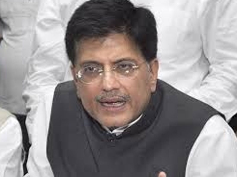 Piyush Goyal visits R K Nagar, says CM constituency lacks basic amenities