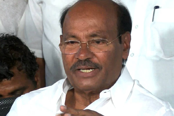 Ramadoss slams Rosaiah for urging EC to conduct polls in 2 seats soon