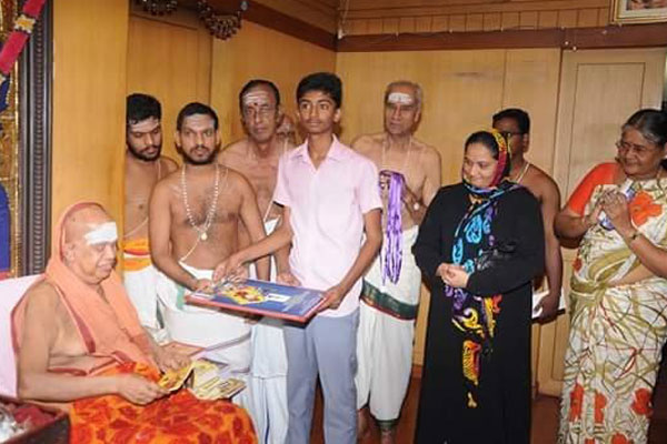 Without religious barriers, Kanchi Sankara math provides education to all
