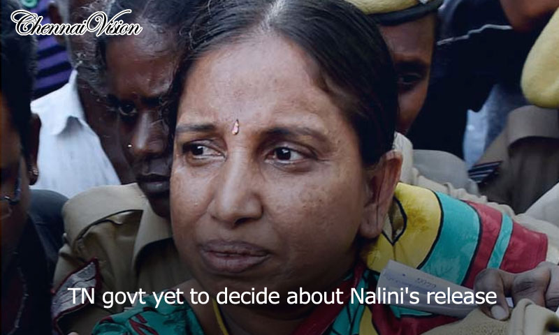 TN govt yet to decide about Nalini's release