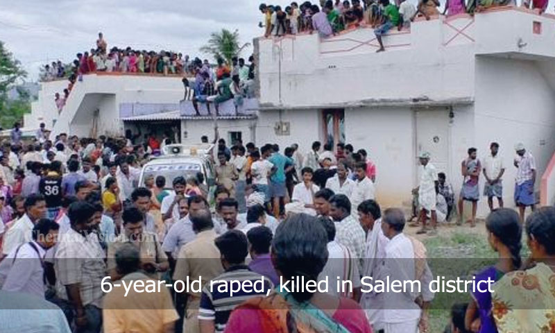 6-year-old raped, killed in Salem district