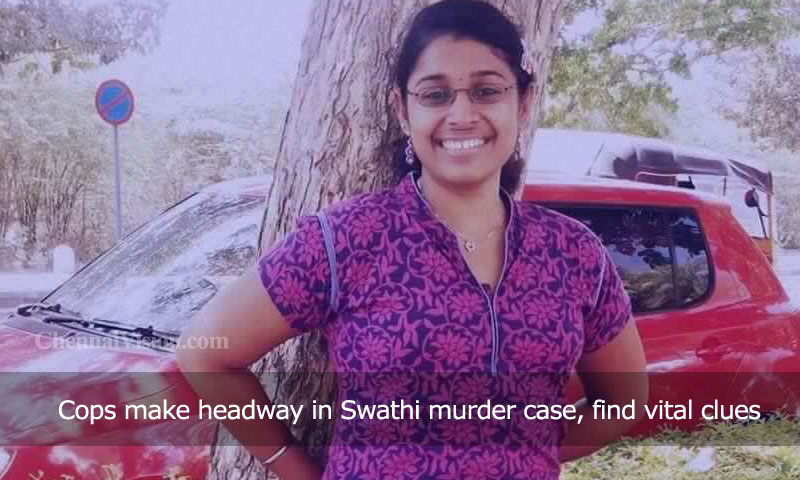 Cops make headway in Swathi murder case, find vital clues