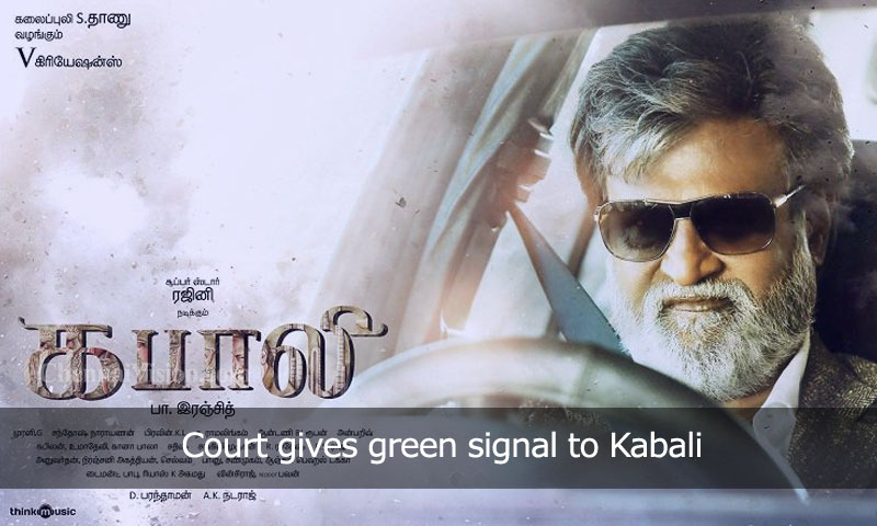 Court gives green signal to Kabali