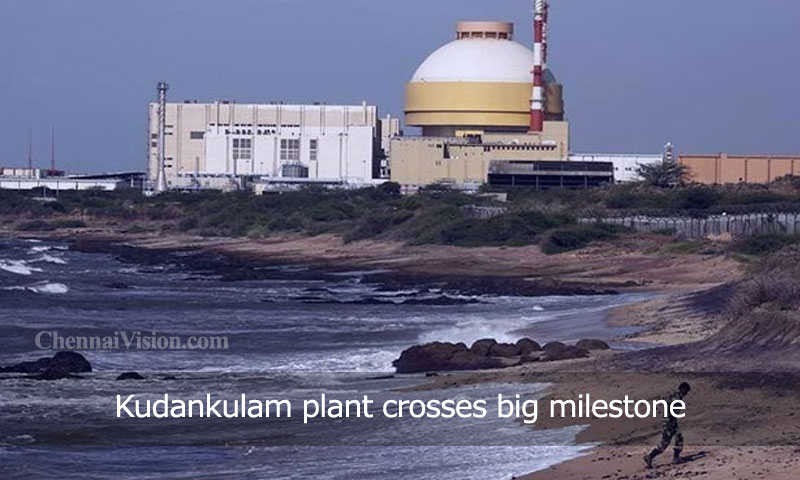 Kudankulam plant crosses big milestone