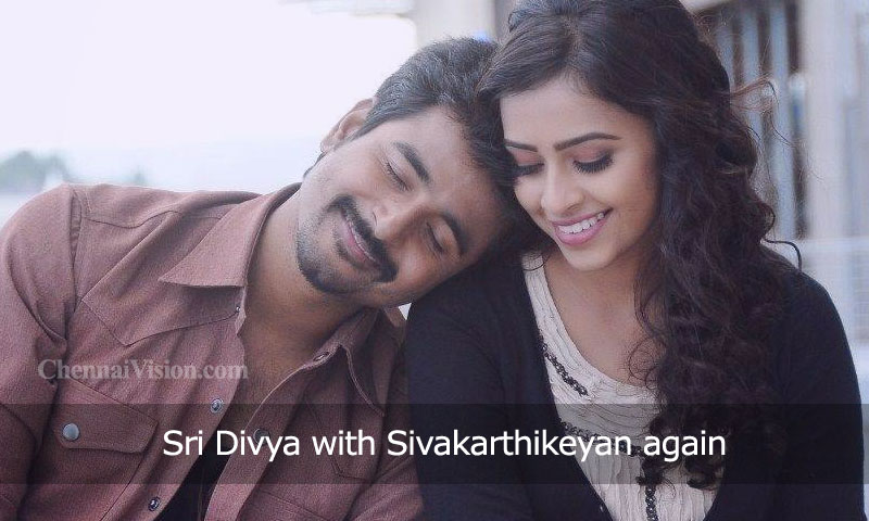 Sri Divya with Sivakarthikeyan again