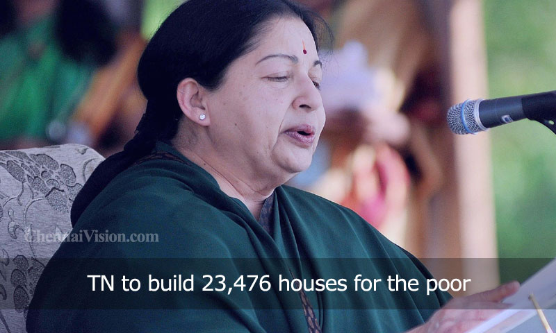 TN to build 23,476 houses for the poor