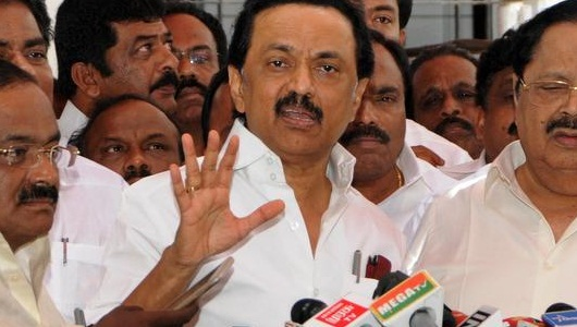 DMK MLAs suspended for 1 week from Assembly