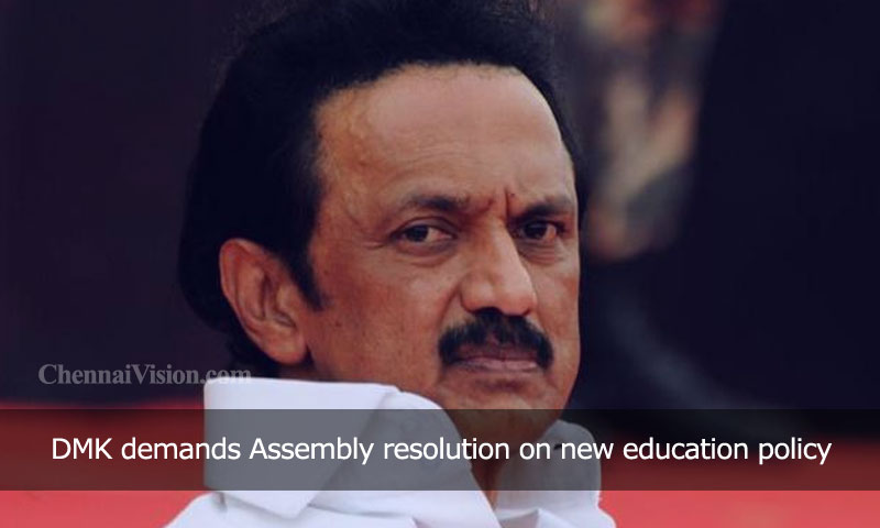 DMK demands Assembly resolution on new education policy