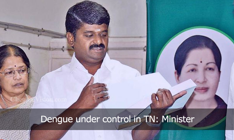 Dengue under control in TN: Minister