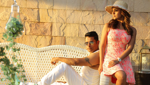 Irumugan cleared with U/A, release on Sept 8