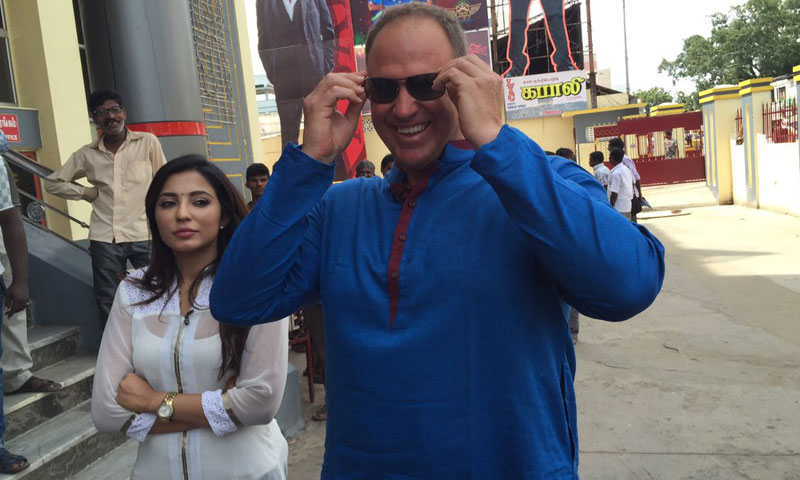 Matthew Hayden watches Kabali