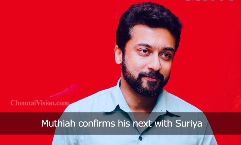 Muthiah confirms his next with Suriya