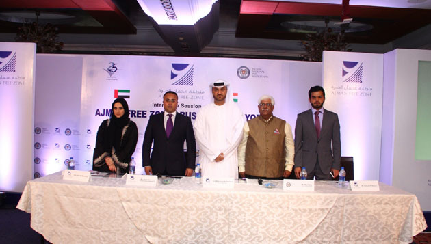 Ajman Free Zone, UAE Comes to India, offers Business Opportunities in Middle East