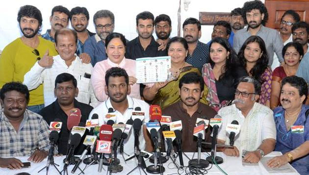 Nadigar Sangam supports TN govt in Cauvery issue