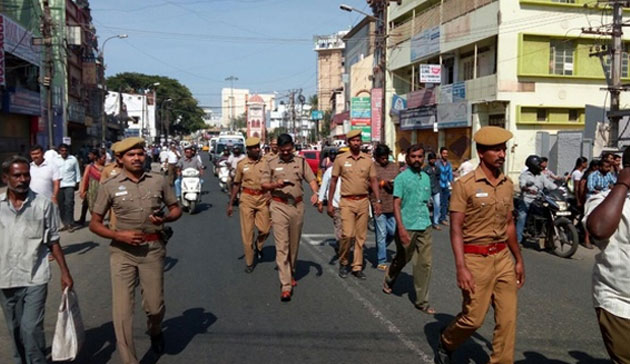 Tight security in Coimbatore after violence over Hindu leader's murder