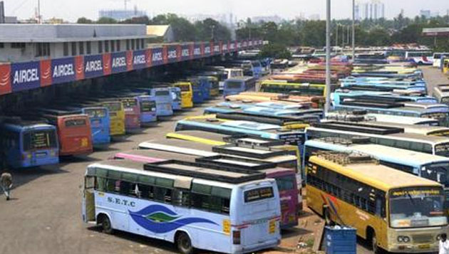 Deepavali special buses start operations, many from Chennai leave for native