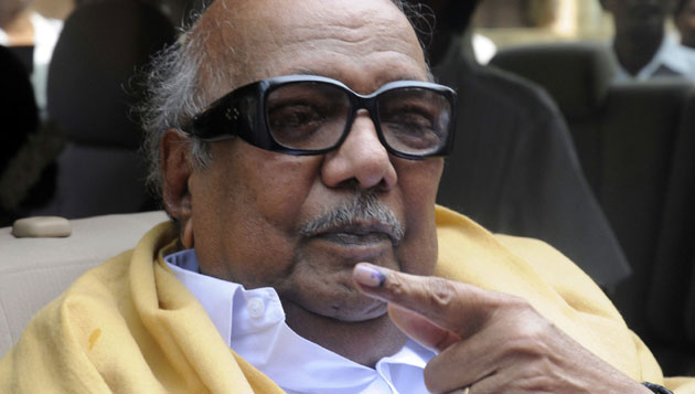 How is Karunanidhi's health now?