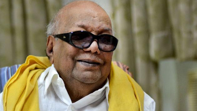 Karunanidhi falls ill, DMK bans visitors