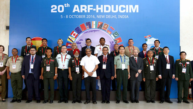 Manohar Parrikar calls upon ASEAN Countries to Fight Terrorism in Every form Resolutely