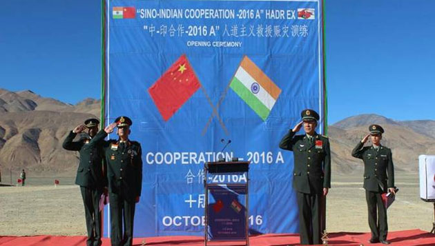 Second Joint tactical Exercise held by Indian and Chinese army in Ladakh