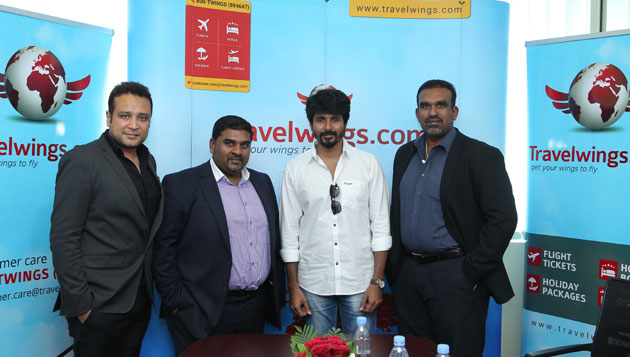 Sivakarthikeyan makes his first Fan Visit to the UAE to promote 'REMO' movie