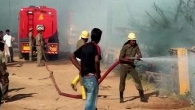 Sivakasi fire: Many killed, ministers rush to spot