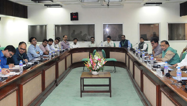 Union Ministers from Bihar interact with young IAS Officers posted as Assistant Secretaries in various Central Ministries