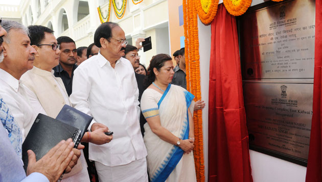 Venkaiah Naidu inaugurates Rs.114 cr facilities; says role model for city improvement