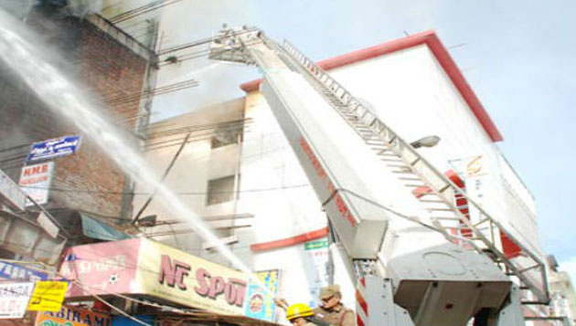 Fire at popular store's canteen at T Nagar