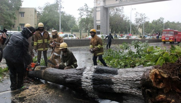 After Vardah, many areas yet to get power, water