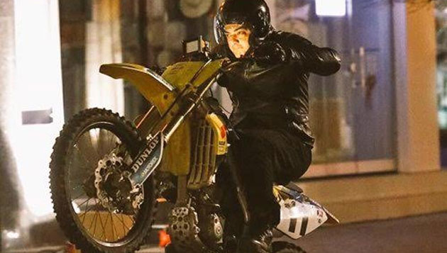 Ajith's daredevil bike stunt in Bulgaria
