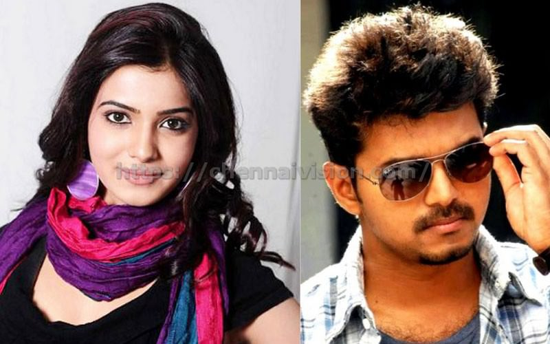 Samantha with Vijay-Atlee again?