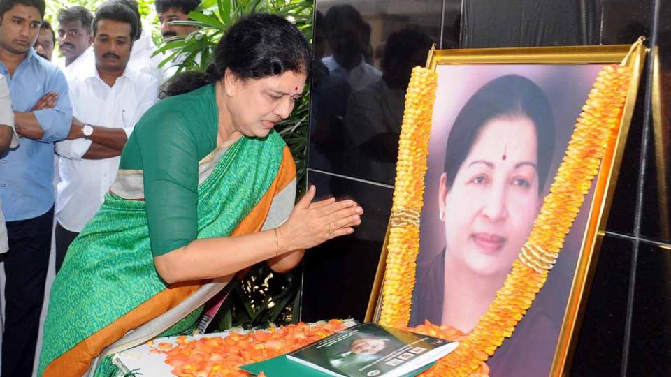 VK Sasikala's first speech after taking charge as AIADMK general secretary