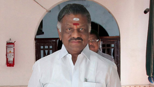 Krishna water: Panneerselvam writes to Chandrababu Naidu