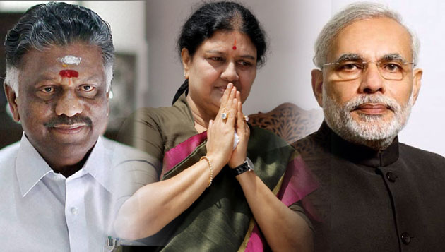 OPS, Sasikala urge Modi to issue special stamp, coin on MGR