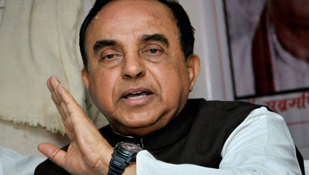 Subramanian Swamy threatens to sue governor, BJP distances itself from Swamy