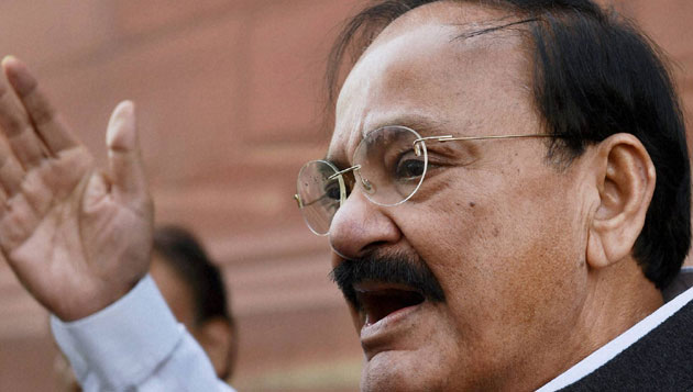 Venkaiah said what happened in TN Assembly was disgraceful