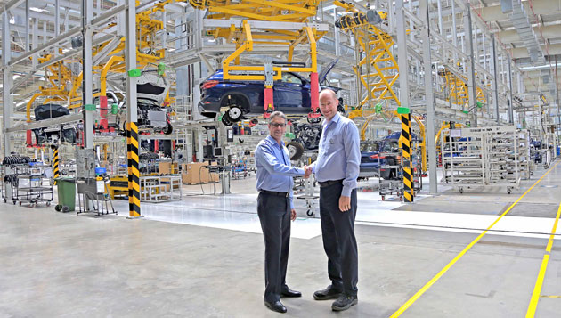 """BMW Plant Chennai scores a decade of """"Sheer Driving Pleasure"""" in India"""