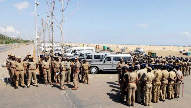 Security beefed up at Marina after protest rumours