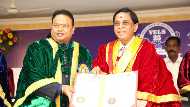 Special Convocation of Vels University