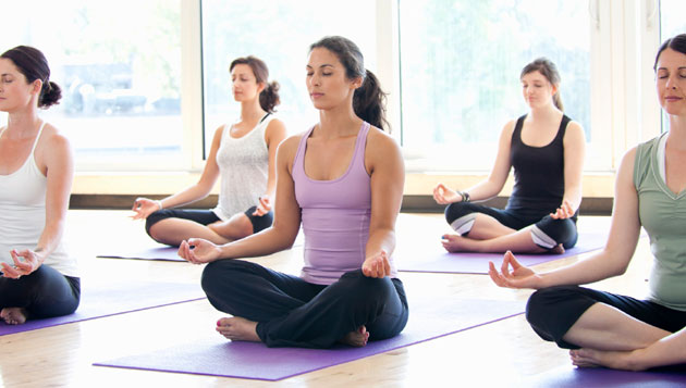Yoga may help university students deal with stress
