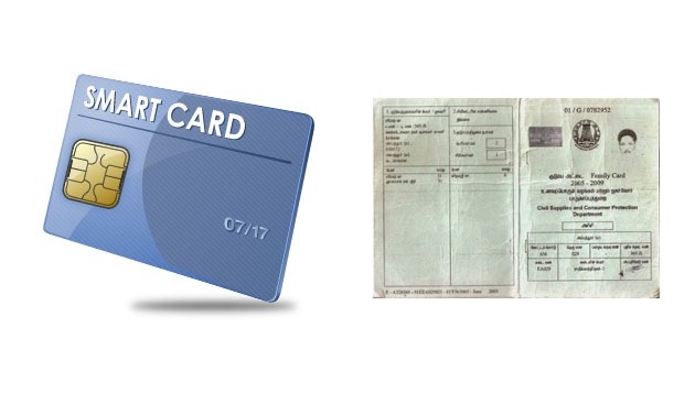 From today, smarts card to replace ration cards in TN