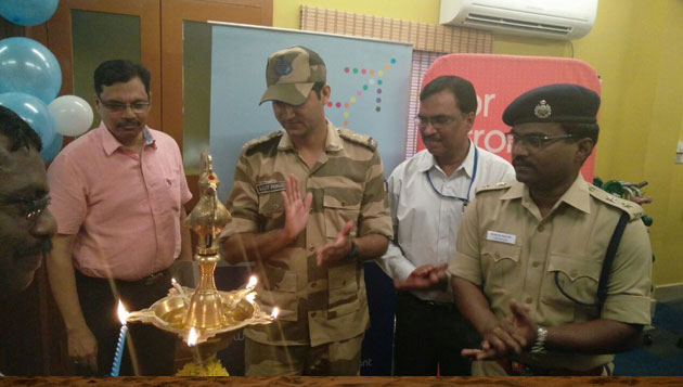 IndiGo takes its FitToFly programme to Chennai; Inaugurates gym for police personnel