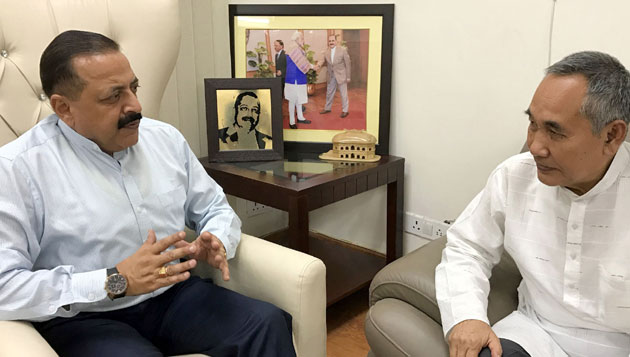 Deputy Chief Minister of Manipur calls on DoNER Minister Dr Jitendra Singh