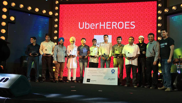 Uber rewards top driver partners at partner appreciation event in Kolkata