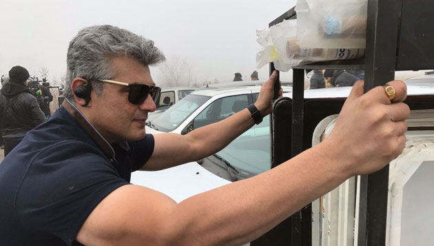What's Ajith doing today?
