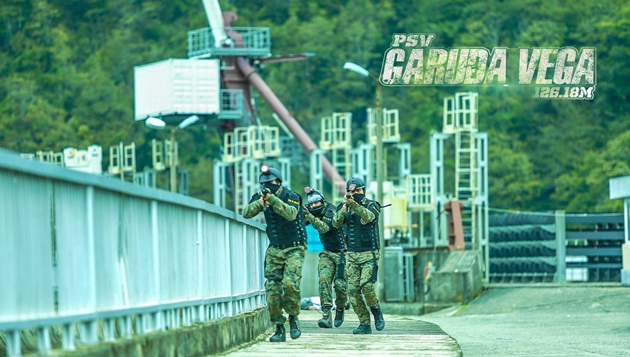 7 Days shoot in a war zone on the largest Dam in Georgia
