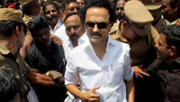 Stalin arrested near Coimbatore